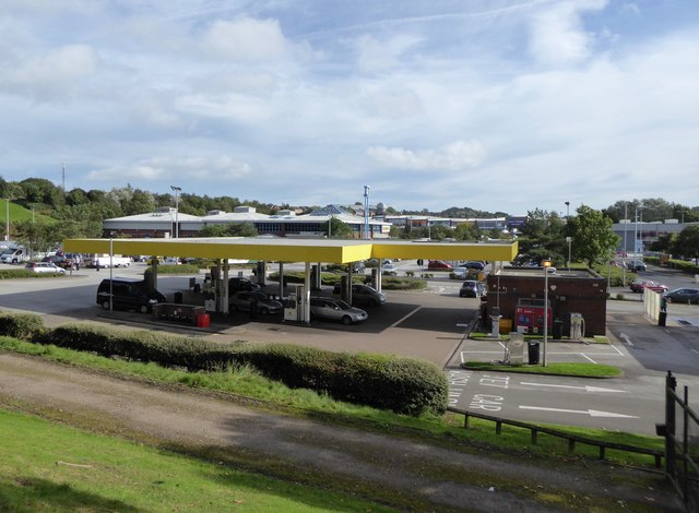 Festival Park: Morrisons filling station
