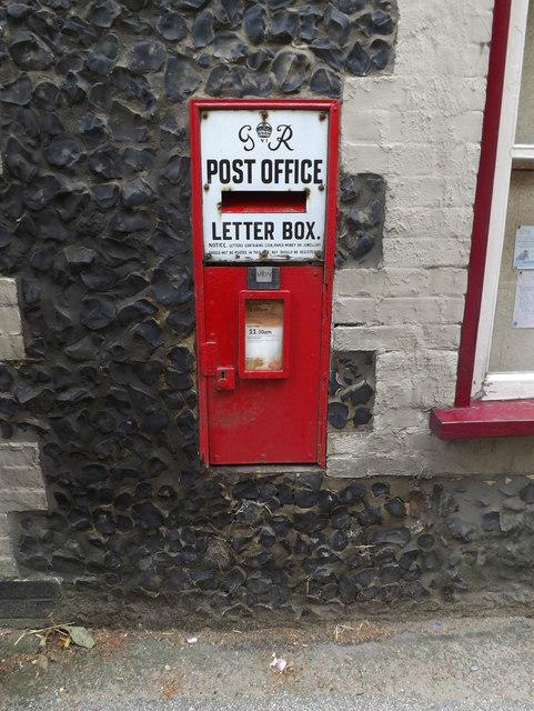 Post Office George VI Postbox