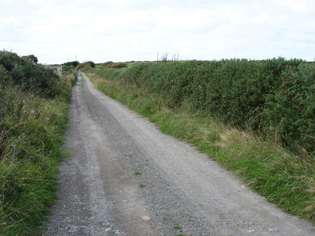 A track near to Aberffraw