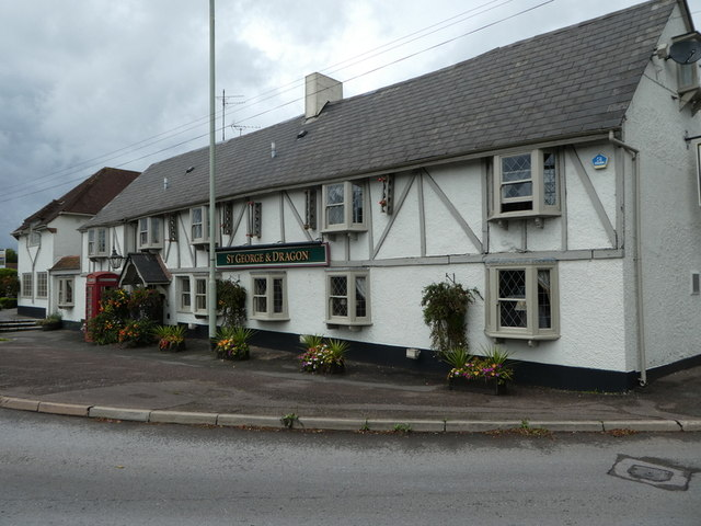 The St. George and Dragon, Clyst St. George