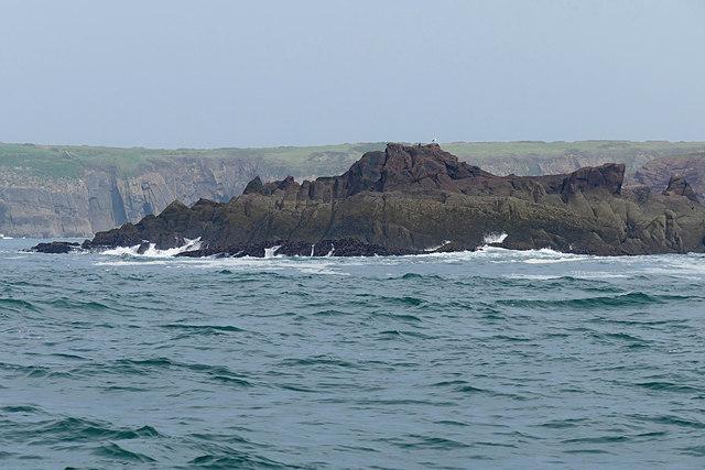 West Beacon Point, Caldey Island