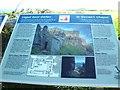 SR9693 : St Govan's Chapel - information board by welshbabe