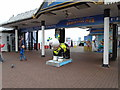 TQ3103 : Snowdog #28, Brighton Palace Pier Entrance by Paul Gillett