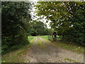 TM1387 : Entrance to Yew Tree Farm by Adrian Cable