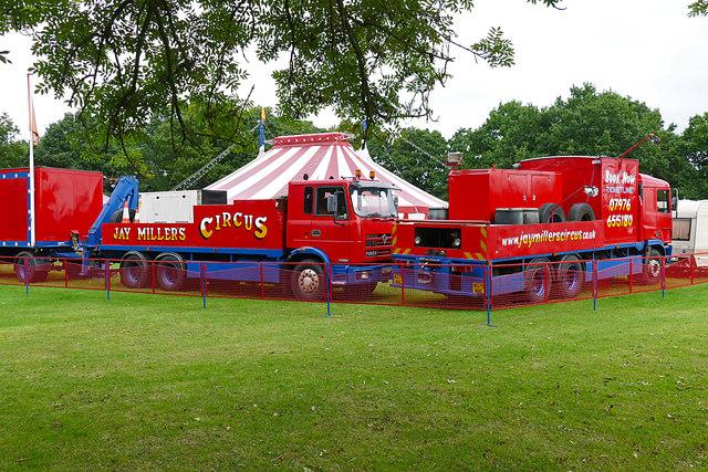 The circus, Bisley Green