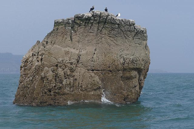 Sker Rock off Tenby