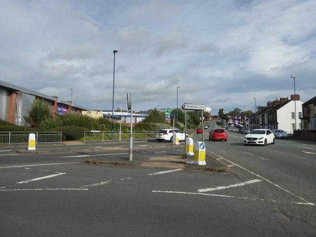 Cobridge: junction of Pavillion [sic] Drive and Cobridge Road