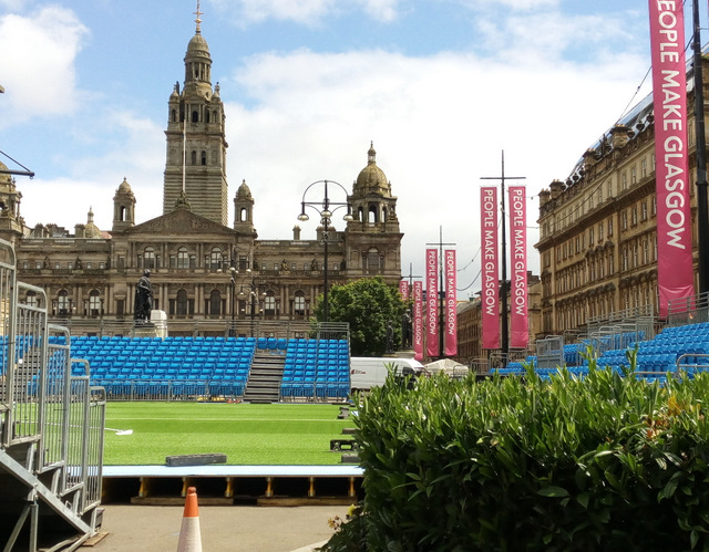 Homeless World Cup, George Square, Glasgow