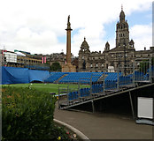 NS5965 : Homeless World Cup, George Square, Glasgow by Thomas Nugent