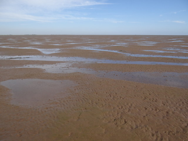 Sand flats at Butterwick Low