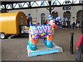 TQ3104 : Snowdog #12, outside Brighton Station by Paul Gillett