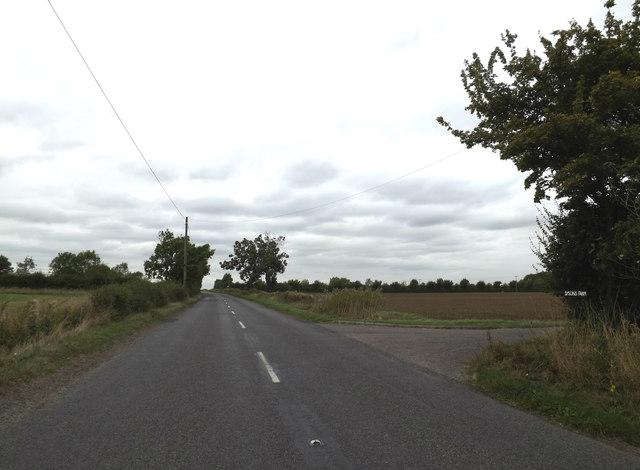 B1134 Long Row, Long Row, Tibenham
