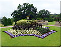 ST5071 : Flower bed at Tyntesfield by PAUL FARMER