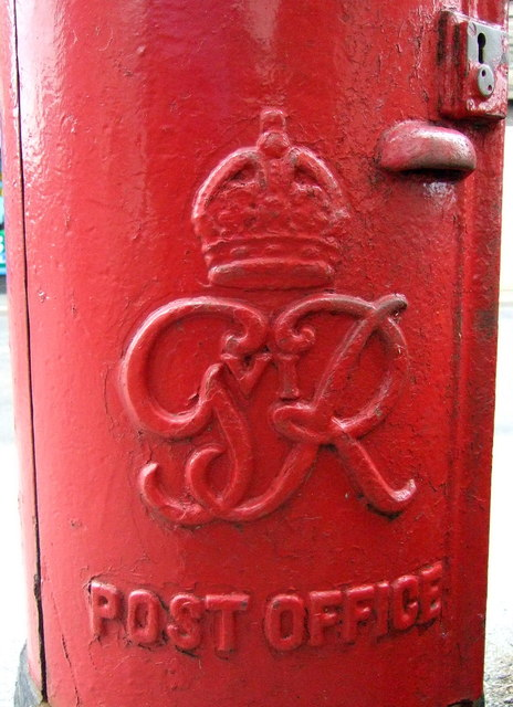 Cypher, George VI postbox on Main Road, Hellifield