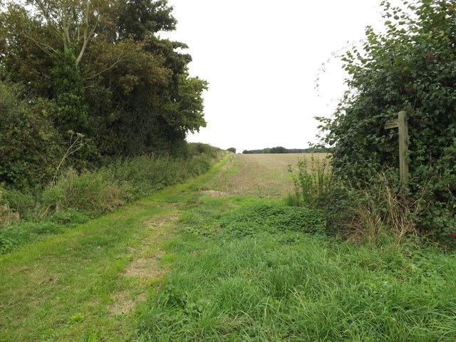Footpath off Church Road
