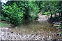 SS9529 : River Haddeo Ford by John Walton