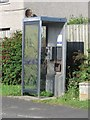NU2703 : Public telephone at High Hauxley by Graham Robson