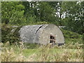 TM1387 : Nissen Hut at Grange Farm by Adrian Cable