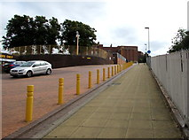 SO9199 : Molineux Alley, Wolverhampton by Jaggery