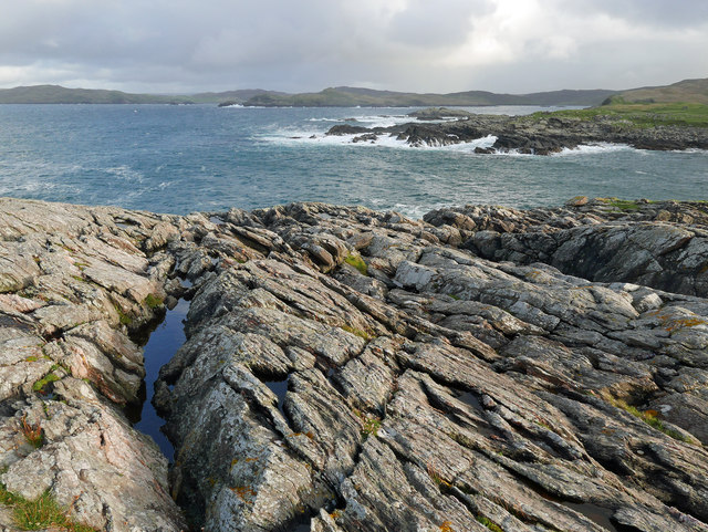 Coastline by Skerry of Stools
