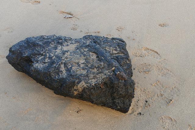 Lignite block, Freshwater East