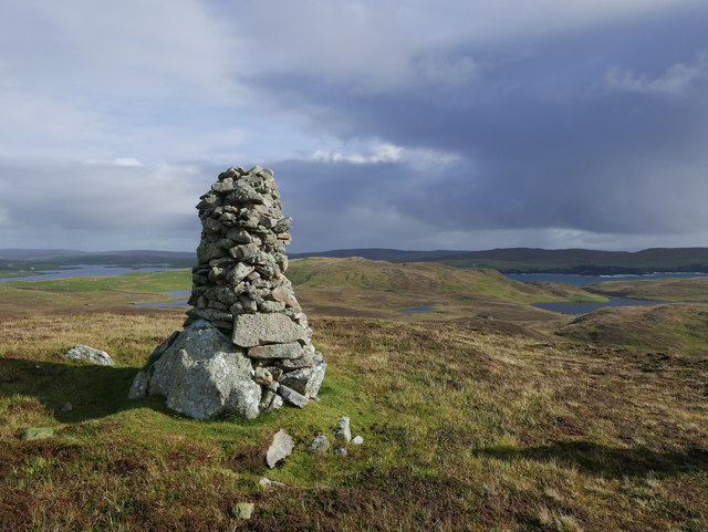 Cairn above Littlure