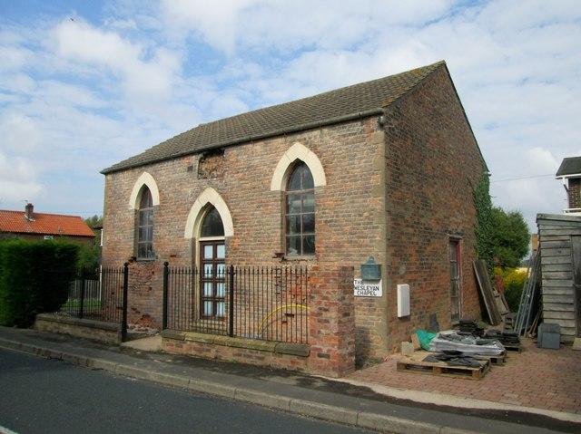Converting  the  Wesleyan  Chapel