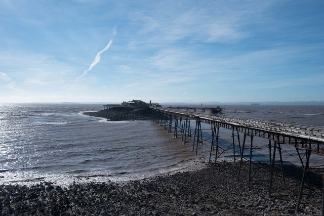 Birnbeck Pier and Island, Weston super Mare