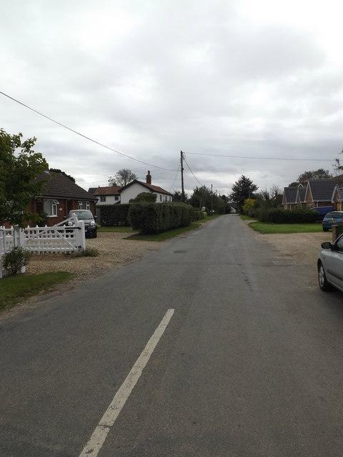 North Road, Bunwell
