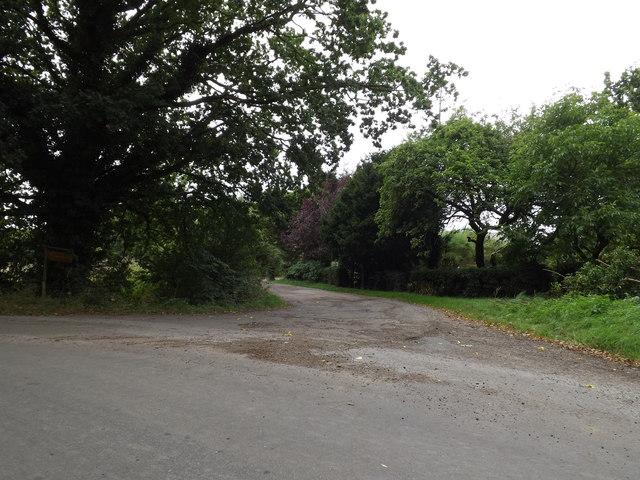 Entrance to Messuage Farm & Willow Bough Farm