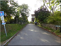 TQ2912 : Church Hill on the South Downs Way by Shazz