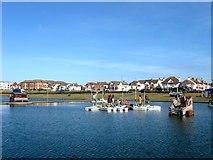 TQ2704 : Boating Lake, Hove Lagoon, Hove by Simon Carey
