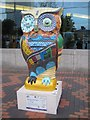 SP0686 : A Big Hoot Owl, Welcome to Birmingham by Philip Halling
