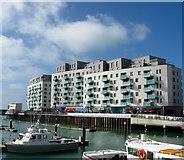 TQ3303 : Sirrius, Brighton Marina, Brighton by Simon Carey