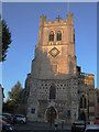 TL3800 : West tower of Waltham Abbey church by Stephen Craven