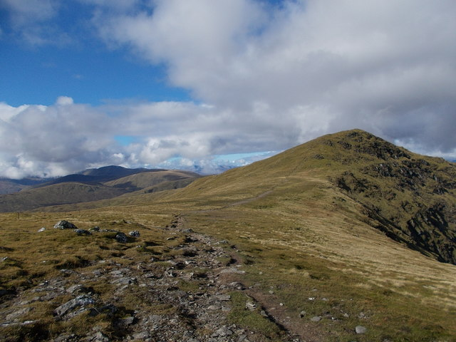 Stuchd an Lochain summit ridge