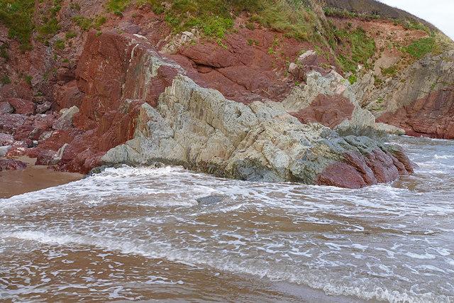 Old Red Sandstone, Freshwater East