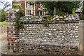 TQ1649 : Wall, 4 Rose Hill by Ian Capper