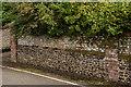 TQ1649 : Wall, 3 Rose Hill by Ian Capper