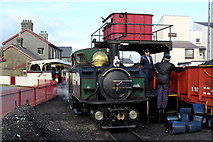 SH5738 : Coaling Engine at Porthmadog Harbour Station by Chris Heaton