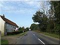 TM1387 : B1134 Long Row, Tibenham by Adrian Cable