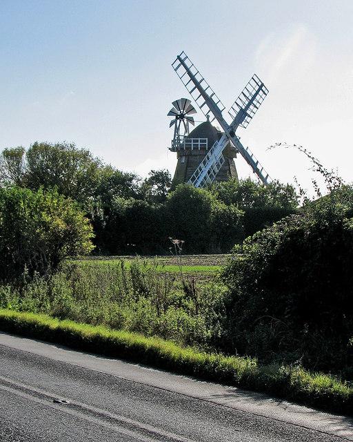 Fulbourn Windmill restored