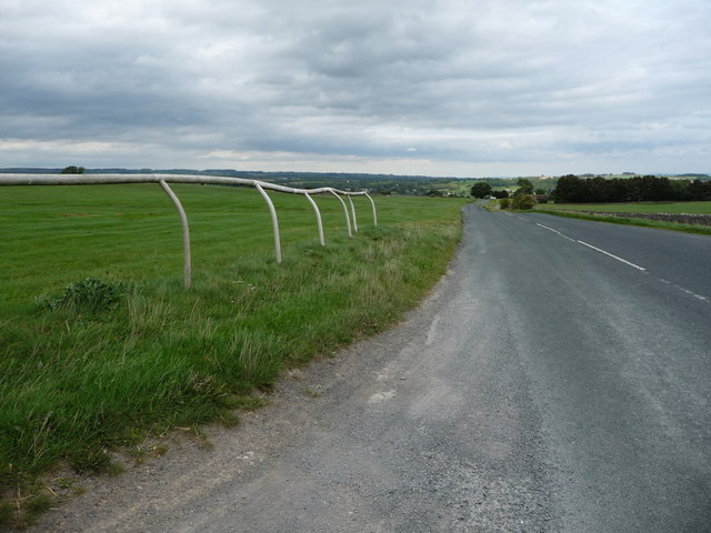 The road to Middleham