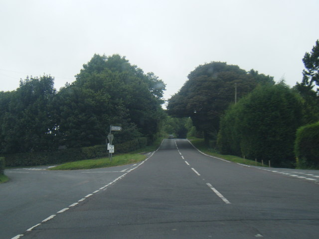 A517 at Cross o' th' hands junction