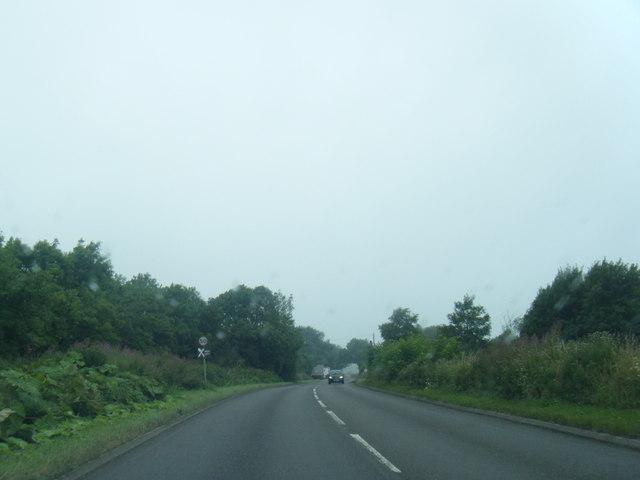 A52 northbound near Cornpark