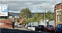 J3373 : Development site, Utility Street, Belfast (October 2016) by Albert Bridge