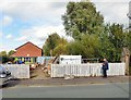 SJ8797 : Men's Shed Manchester by Gerald England