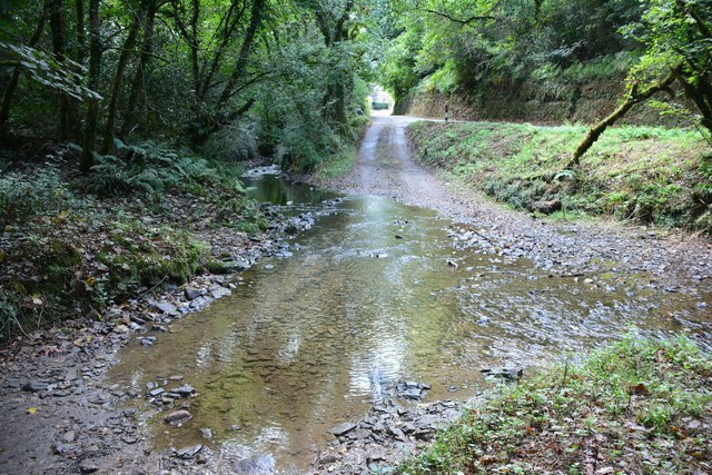 Ford At Withielgoose Mills