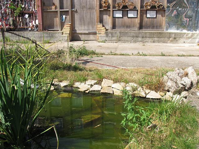 Cross Bones Garden - pond