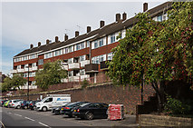 TQ1649 : Flats, Dene Street by Ian Capper